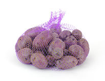 Unique Purple Potatoes Royalty Free Stock Image