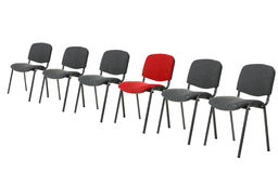 Unique red chair Royalty Free Stock Photo