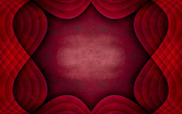Unique Red Textured Frame Background Design Stock Photography