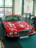Unique retro car. Jaguar Stock Photos