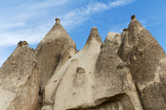 Unique Rock Formations In Cappadocia, Turkey Royalty Free Stock Image