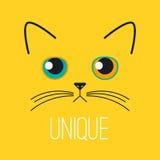 Unique sad kitten Stock Photo