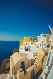 Unique Santorini architecture. Greece Royalty Free Stock Images