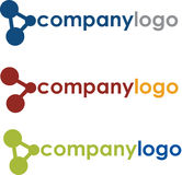 Unique Scientific Company Logo Royalty Free Stock Photos