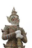 Thai giant temple guardian Royalty Free Stock Photos