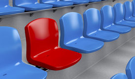 Unique seat Stock Images
