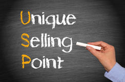 Unique selling point Stock Photo
