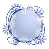 Unique Snowflake Logo Frame Stock Photos