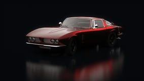 Unique sports car Stock Image
