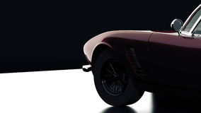 Unique sports car Stock Photo