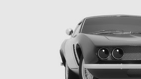 Unique sports car Stock Photography