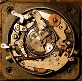 An unique steampunk jewelry Royalty Free Stock Photography