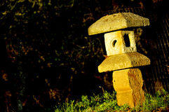 Unique Stone Sculpture. On Private Residence in Sonoma Valley, California Stock Image