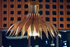 Unique and stylish interior ceiling lights  photo Royalty Free Stock Photos