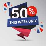 Unique Super Sale Banner Stock Images
