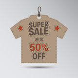 Unique Super Sale Banner Royalty Free Stock Photography