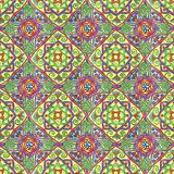 Hand-drawn seamless pattern. Ornament for embroidery stock illustration