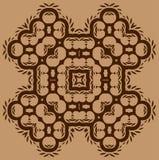 A unique tile design Stock Image