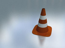 Unique traffic cone Stock Image