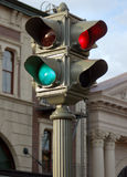 Unique traffic light stock photo