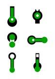 Unique vector logos Stock Photo