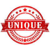 Unique vector stamp Stock Photography