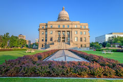Unique view of the Boise IDaho capital building Stock Photography