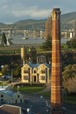 Unique view of Hobart, Tasmania Stock Photography