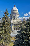Unique view of a state capital building Stock Photo