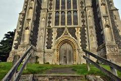 Lavenham UK.Old Church Royalty Free Stock Photography