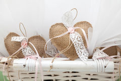 Unique Wedding favors. Wedding party favours, and favor ideas that will impress your guests Stock Images