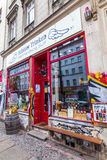 Unique wine shop in Berlin-Kreuzberg Stock Photo