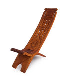 Unique wooden chair from Suriname Stock Photography