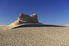 Unique yadan earth surface in the Gobi Desert Royalty Free Stock Photography