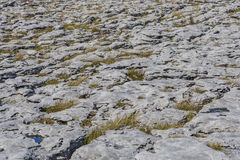 Uniquely stark beautiful Karst landscape of The Burren Royalty Free Stock Photography