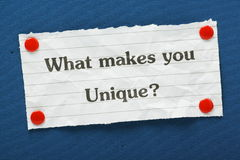 Uniqueness Concept Royalty Free Stock Images