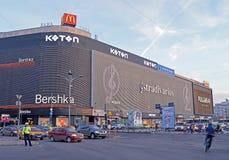Unirea购物中心,布加勒斯特,罗马尼亚 免版税库存照片