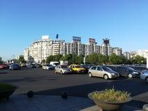Unirii广场,布加勒斯特 库存图片