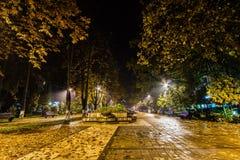 Unirii boulevard Royaltyfri Bild