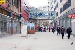 Unirii de Carrefour Image stock