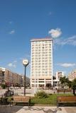 Unirii Square in Iasi stock photo