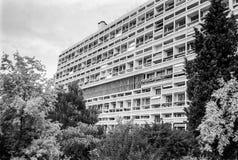 Unisca l'abitazione di d nel hdr di Marsiglia immagini stock