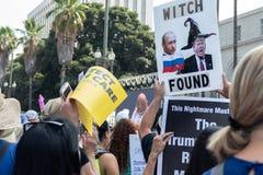 Unisca per la giustizia Rally Los Angeles immagine stock
