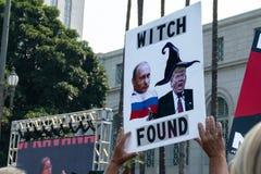 Unisca per la giustizia Rally Los Angeles immagini stock