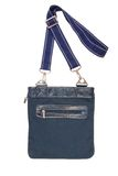Unisex blue bag Stock Image