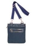 Unisex blue bag stock image