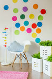 Unisex child's room royalty free stock images