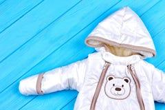 Unisex dziecko zimy kombinezon Obraz Stock