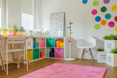 Unisex kids room Royalty Free Stock Image
