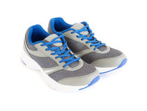 Unisex modern style jogging shoes. Isolated unisex modern style jogging shoes Stock Photography